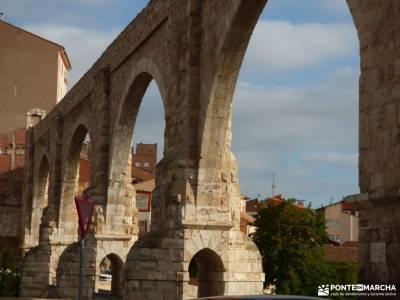 Albarracin y Teruel bolsillos para mochilas senderismo laguna negra cañon del rio lobos en bici rut